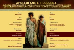 Identikit Apollofane e Filossena