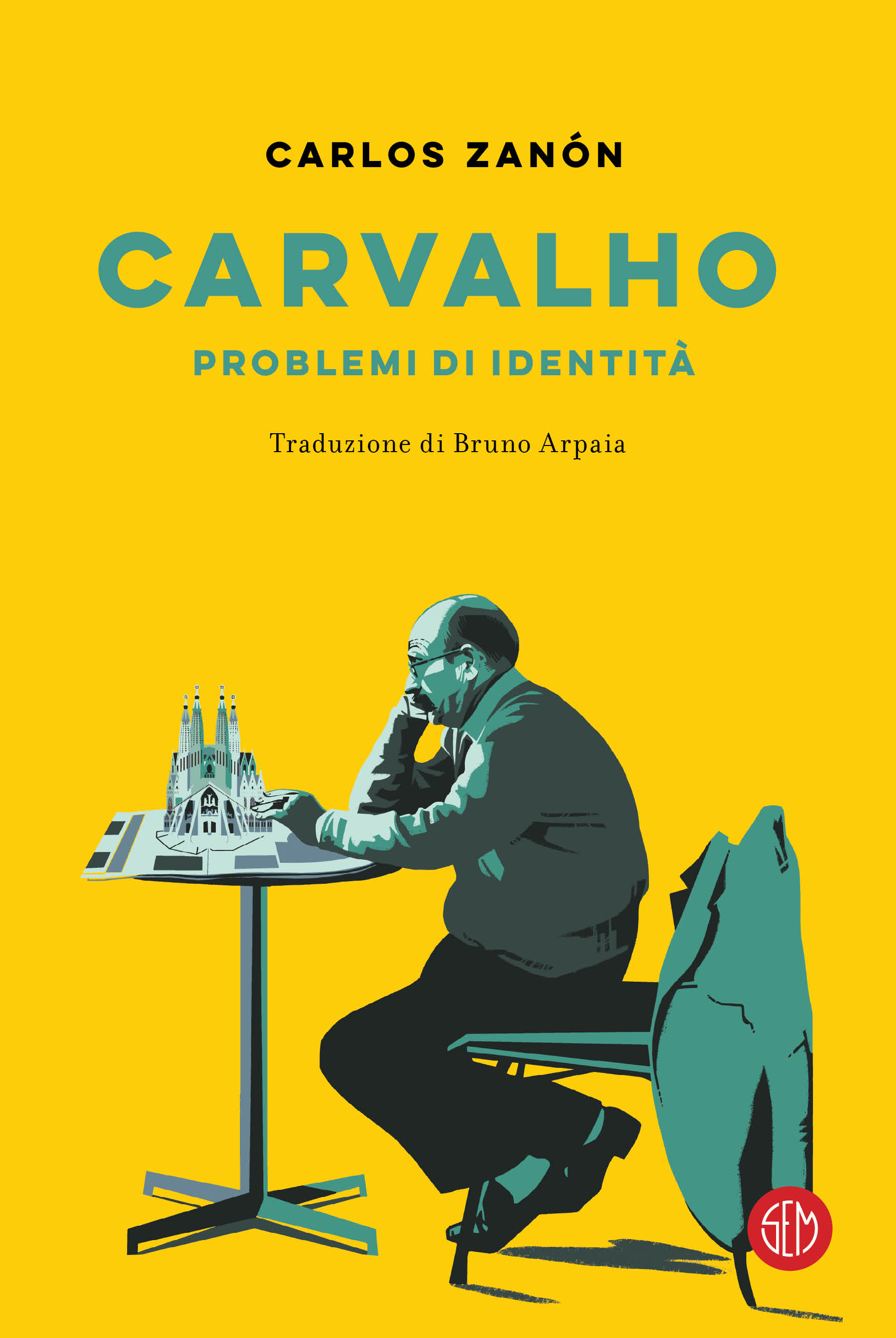 "Risultati immagini per ""Carvalho – Problemi di identità"" di Carlos Zanòn (SEM)"